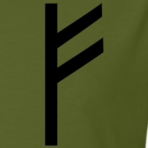 Rune Fehu - luck, prosperity & personal power T-Shirts - Men's Organic T-shirt