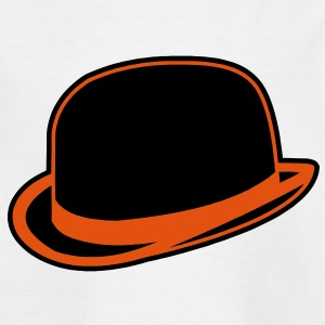 Horrorshow Orange Bowler Hat Melone Hut Clown Alex Shirts - Teenage T-shirt