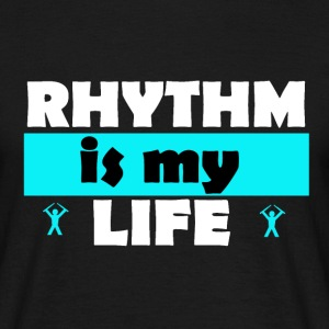 Rythm is my life Tee shirts - T-shirt Homme