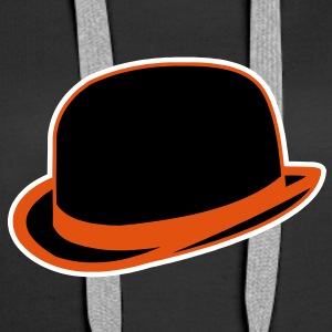 Horrorshow Orange Bowler Hat Melone Hut Clown Alex Pullover & Hoodies - Frauen Premium Hoodie
