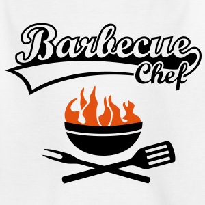 Maître Barbecue Grill Chef - Griller BBC incendie Tee shirts - T-shirt Ado