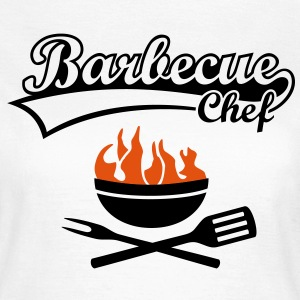 Maître Barbecue Grill Chef Griller BBC Tee shirts - T-shirt Femme
