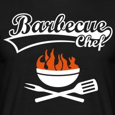 Barbecue Chef Grill Master Grilling BBQ Fire Shirt