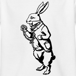 White Rabbit Wonderland Shirts - Teenage T-shirt