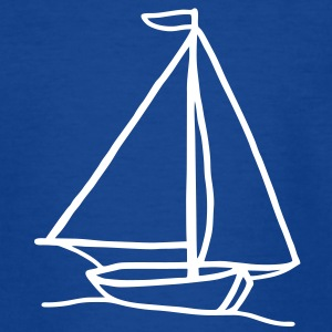 SAILING - boot  - Kids' T-Shirt