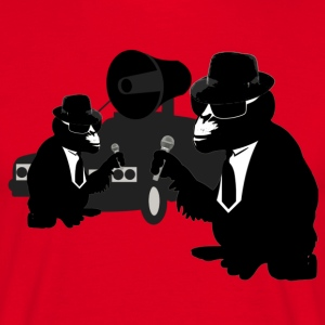 the blues brothers monkey T-Shirts - Männer T-Shirt
