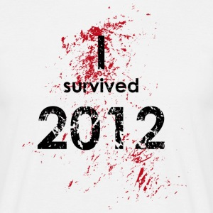 I survived 2012 T-Shirt - Männer T-Shirt