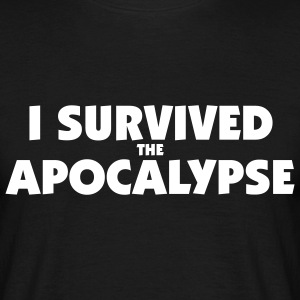 I survived the Apocalypse T-Shirt - Männer T-Shirt