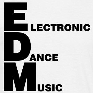 Electro, Dubstep, EDM, MUSIC, DANCE, ELECTRONIC, M - T-shirt Homme