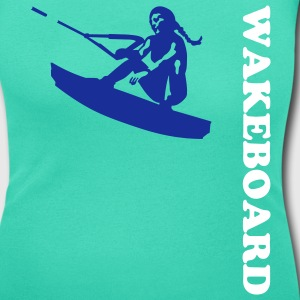 wakeboard Tee shirts - T-shirt col rond U Femme