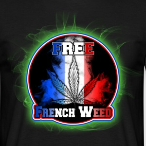free french weed Tee shirts - T-shirt Homme