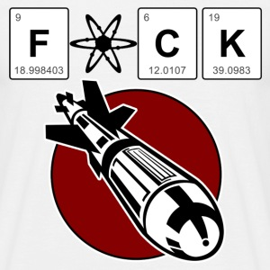 F*ck the atomic bomb - Men's T-Shirt