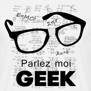 Speak Geek - Men's T-Shirt