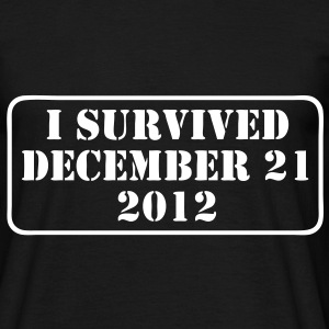 i survived T-Shirts - Männer T-Shirt