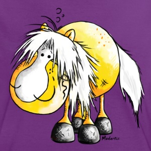 Haflinger - Pferd - Cartoon  T-Shirts - Frauen Kontrast-T-Shirt
