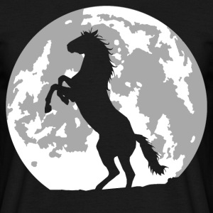 horse full moon T-Shirts - Men's T-Shirt