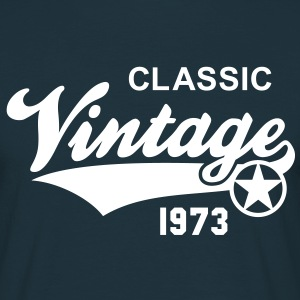 Classic Vintage 1973 Birthday Geburtstag 40th T-Sh - Men's T-Shirt