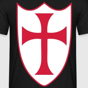 templar cross T-Shirts - Men's T-Shirt