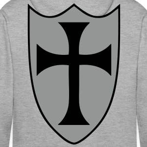 templar cross Hoodies & Sweatshirts - Men's Premium Hoodie
