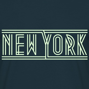 New York, T-shirt - Mannen T-shirt