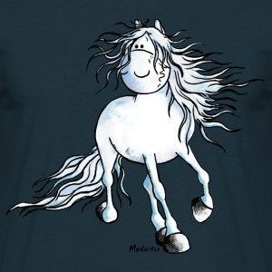White Beauty - Andalusiër- Paard T-shirts - Mannen T-shirt