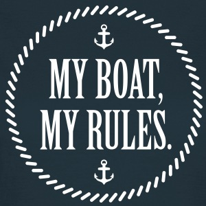 My Boat, My Rules - Women's T-Shirt