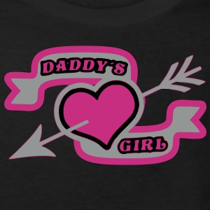 Papa Tochter Daddy´s Girl - Kinder Bio-T-Shirt