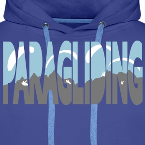 Paragliding Letters Pullover & Hoodies - Männer Premium Hoodie