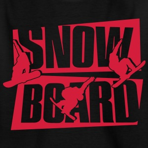 Snowboard Shirts - Teenage T-shirt