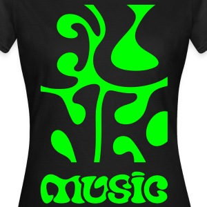 Funk Music - Soul Disco Jazz R&B  T-skjorter - T-skjorte for kvinner