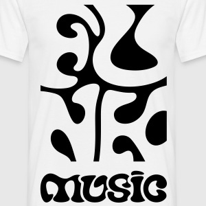 Funk Music - Soul Disco Jazz R&B  T-shirts - T-shirt herr
