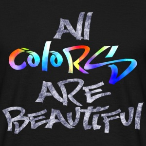 all_colors_are_beautiful Tee shirts - T-shirt Homme
