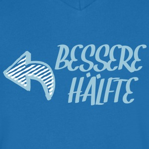 Bessere Hälfte T-Shirts - Men's V-Neck T-Shirt