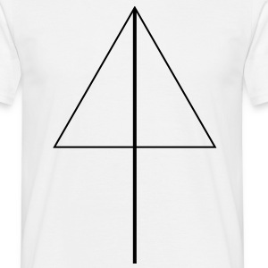 Abstrakt abstract art artist pfeil symbol form 1c T-Shirts - Men's T-Shirt