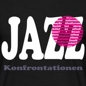JAZZ konfrontasjoner  - T-skjorte for menn