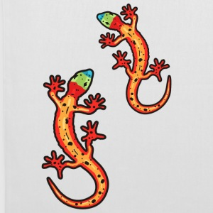 lézards multicolore Sacs - Tote Bag