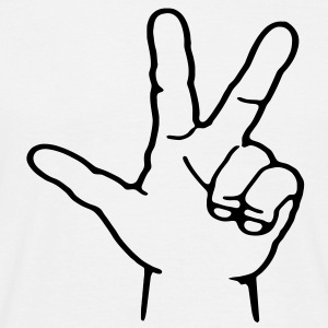 3 Finger Zeichen