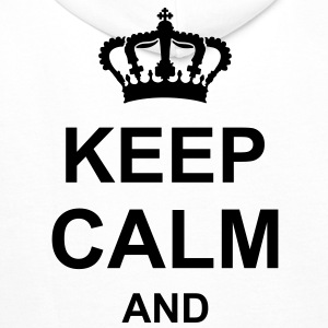 keep_calm_and_g1 Hoodies & Sweatshirts - Men's Premium Hoodie