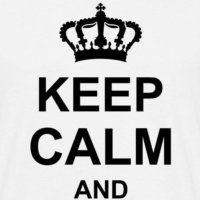keep calm and g1 T-shirts