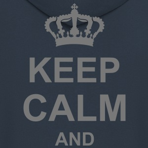 keep_calm_and_g1 Sweat-shirts - Veste à capuche Premium Homme