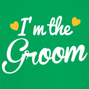I'm the GROOM! bridal wedding design T-Shirts - Women's Ringer T-Shirt