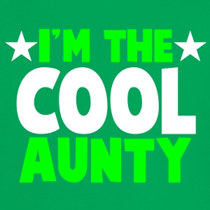I'm the COOL aunty! T-Shirts - Women's Ringer T-Shirt
