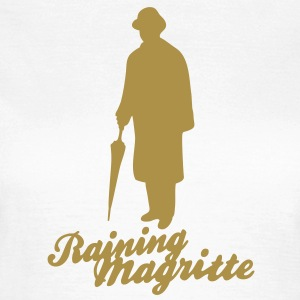 magritte_silhouette_a_2c Tee shirts - T-shirt Femme