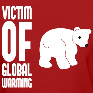 Victim of global warming - Eisbär T-Shirts - Frauen Bio-T-Shirt