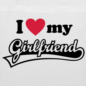 I love my Girlfriend - J'aime ma petite amie. Sacs - Tote Bag