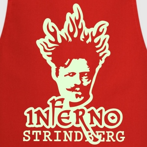 Inferno Strindberg Black 2c  Aprons - Cooking Apron