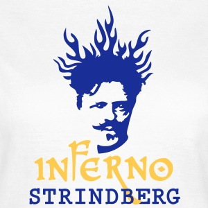 Inferno_Strindberg_on-white_3c T-Shirts - Women's T-Shirt