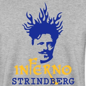 Inferno_Strindberg_on-white_3c Hoodies & Sweatshirts - Men's Sweatshirt