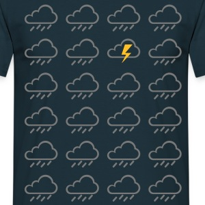 Weather clouds  T-Shirts - Men's T-Shirt