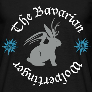 Der Wolpertinger (The Bavarian Wolpertinger) T-Shirts - Männer T-Shirt